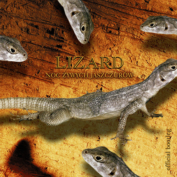 Lizard - Night of The Living Lizards - cover