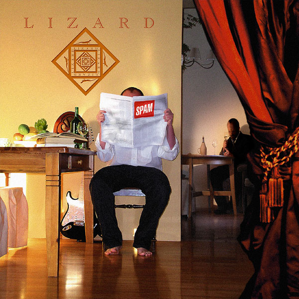 Lizard - SPAM - cover